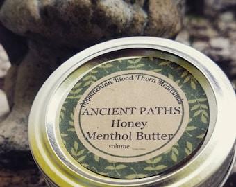 Honey Menthol Whipped Butter