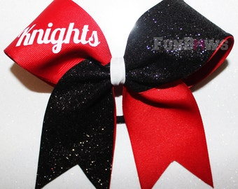 Softball any sport and cheerleading bow by FunBows - Custom with your team name !