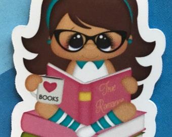 I love books Magnetic Bookmark