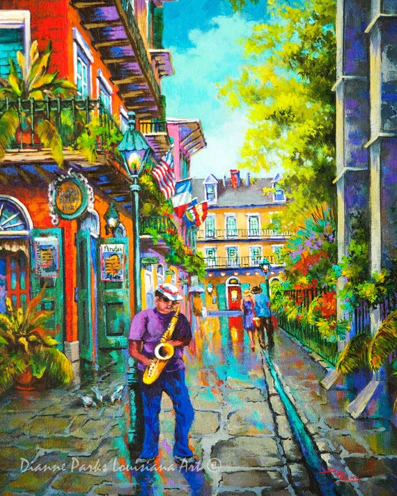 Pirates alley saxophone jazz music in new orleans french for Tattoo shops french quarter new orleans