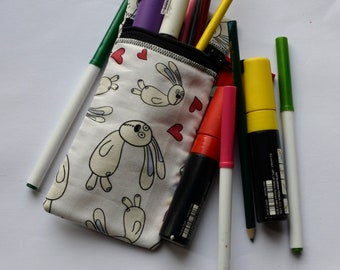 SOME BUNNY LOVE  | Zippered Pouch