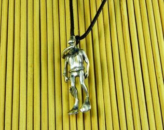 Sub Pendant Silver 925 - Diving