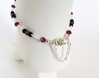 Seed bead Anklet. Anklet