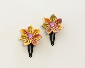 Sunny Flowers Snap Clip Set