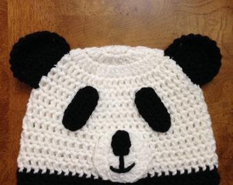 Panda Bear Beanie