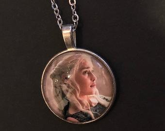 Queen Daenery Targaryen Khaleesi Still From Game Of Thrones