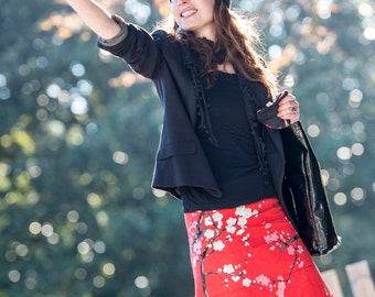 skirt frida kalho black