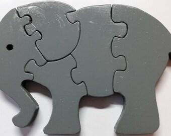 Elephant Wood Puzzle