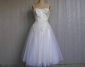 50s wedding dress | Etsy