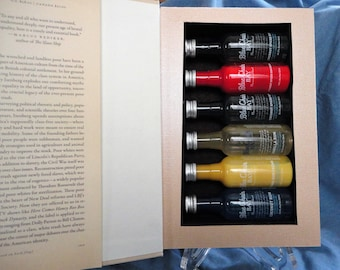 White Trash Hollow Book Safe, Booze Hiding Place, Secret Compartment (alcohol not included)