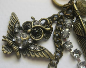 Vintage Owl Necklace