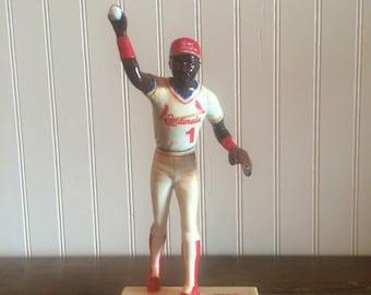 Vintage Rare Cardinals Baseball Ozzie Smith Figurine Ozzie Smith Defense Major Leauge Baseball