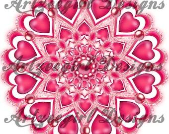 Pink Valentine 2 , Mandala