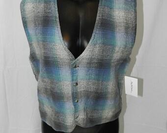 Vintage 90s Reversible Vest