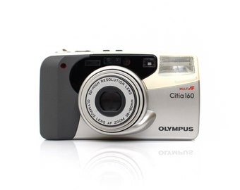 OLYMPUS Citia 160/Superzoom 160 38-160mm Point and Shoot Film Camera