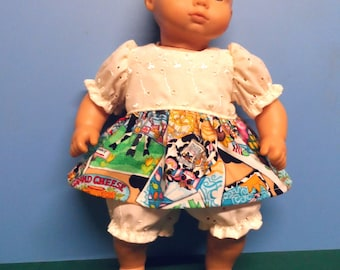 "16"" Doll Clothes - Dress with Panties"