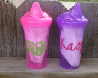 Personalized Sippy Cup - Assorted Colors