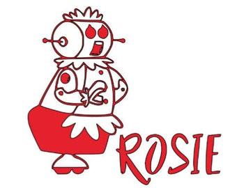 Rosie - Jetsons - Vinyl for Roomba