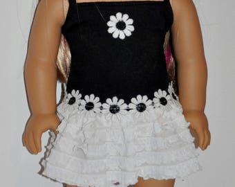 Custom made summer doll dress that fits AMERICAN GIRL DOLLS