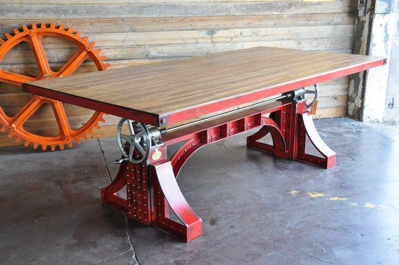 Delicieux Industrial Crank Table