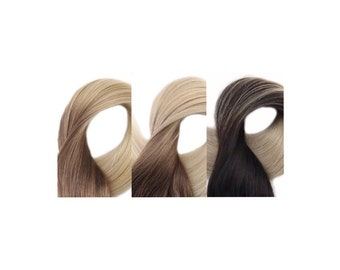 Ombre Tape In Human Hair Extensions (20pcs)