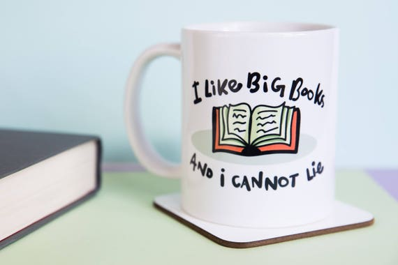 I Like Big Books And I Cannot Lie Coffee Mug with gift box