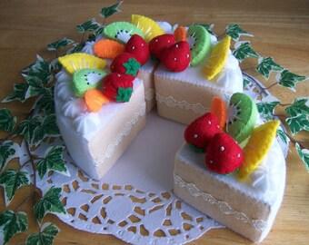 Fruit Cake  -no.01 -  PDF pattern