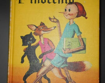 The adventures of Pinocchio The Story of King Arthur and his Knights Companion library Hardcover FE 1965