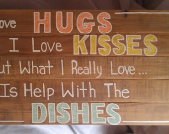 Hugs, Kisses, Dishes
