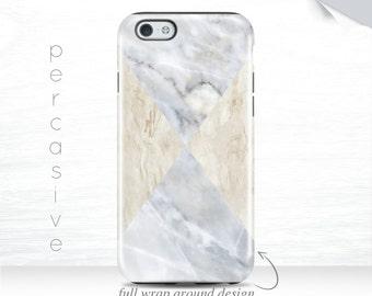 iPhone 6 Marble Case Geometric iPhone 6 Plus Case Triangle iPhone 5s Case Tan Marble iPhone 6s Case Marble Texture iPhone 7  01q