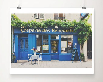 creperie photograph kitchen wall art travel photography france photograph french decor restaurant photograph bourges photograph