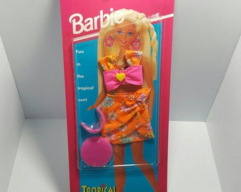 Tropical Splash Barbie Summer Outfit 1994 NEW 3