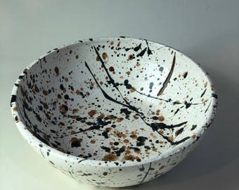 ACTION PAINTING BOWL