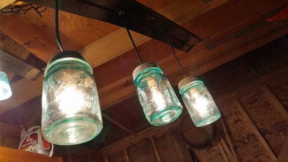 Barrel Stave Swag light