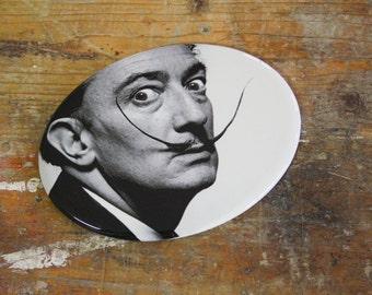 Salvador Dali-portrait-(photograph by Philippe Halsman)