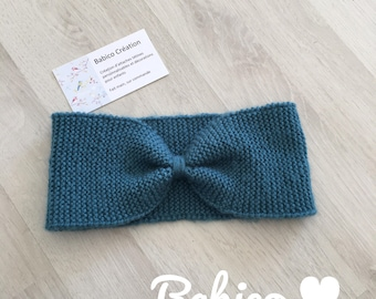 Earmuffs knit headband