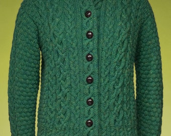 PDF Knitting Pattern Cabled Cardigan #173