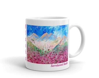 Fireweed Fireflies Mug