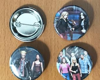 Buffy the Vampire Slayer Battles 1.25' Button Pack
