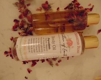 Sesame Rose Body Oil