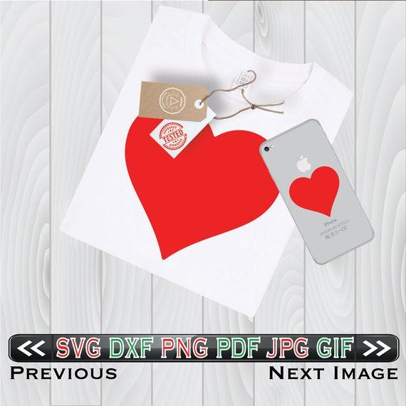 Herz SVG Dateien für Valentine Cricut Design DXF Muster Liebe