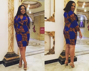 The Onyi African print Ankara skirt and blouse