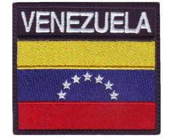 Venezuela Badge Flag Embroidered Patch