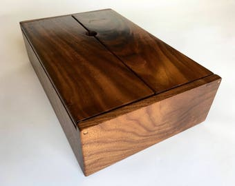 Walnut Remote Control Box