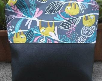 Sloth cosmetic bag