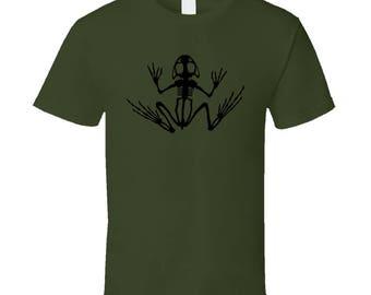 Desert Frog Skeleton T Shirt Frog T-Shirt Frog Shirt Frog T Shirt Frog Tee Funny Frog Shirt Military Tee Military Shirt Military Tees Frogs