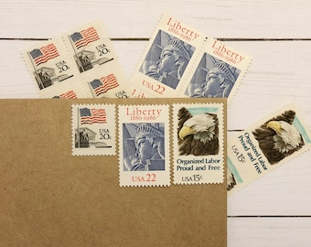 The Patriot Postage Suite (set of 3)