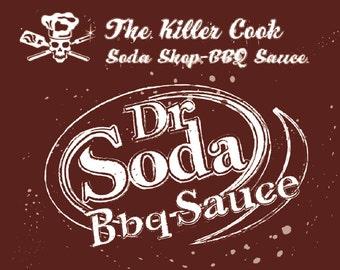 The Killer Cooks Soda Shop BBQ Sauce: Dr Soda BBQ Sauce
