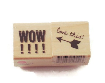 Mini  Rubber Stamp Set  -  WOW / love this