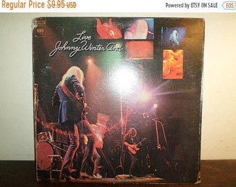 Vintage 1971 Vinyl LP Record Live Johnny Winter And Very Good Condition 10054